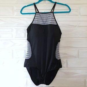 Size 14 Liz Claiborne one piece swimsuit
